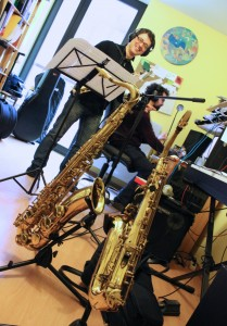 Paulo Pereira Saxofon-Quartette
